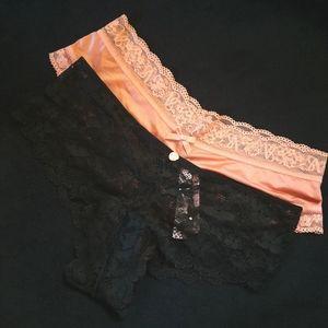 2 Victoria's Secret Cheeky Panties Size S
